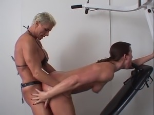 girl boy strapon sex
