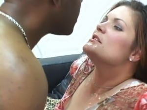 white wife whore for black men