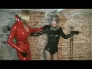 latex angel anal fist video
