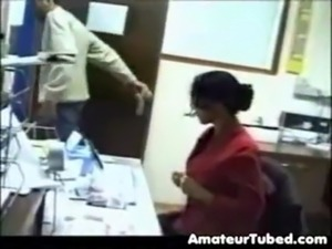 Office girl fucking
