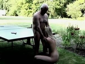 hardcore old man pussylicking