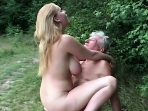 young girl loves old man
