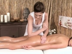 asian video massage lesbian