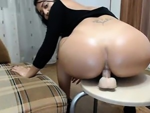 stretched pussy dildo video