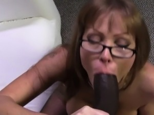 interracial redhead black guy