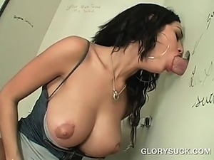 furry filled glory hole wife video