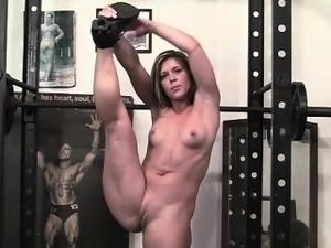 sexy girls at gym