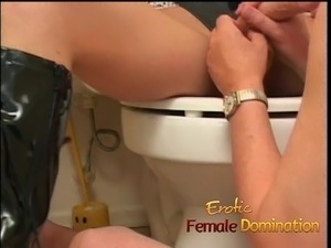 femdom pool party ass humiliation