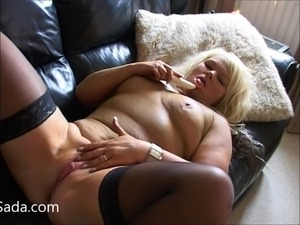 british blonde on black