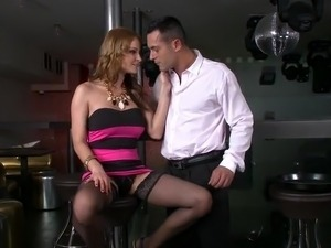 blackmailed wife stockings