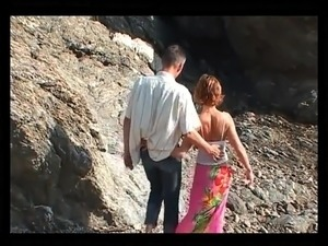 softcore beach video