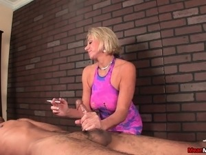 how to give a handjob video
