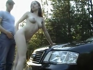 fuck my pussy in your car
