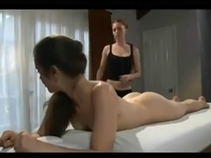 lesbian asian massage video