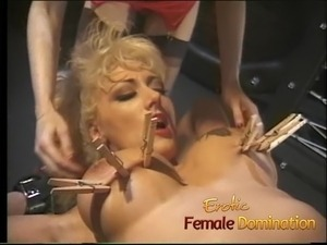 lesbian mistress and her bitch