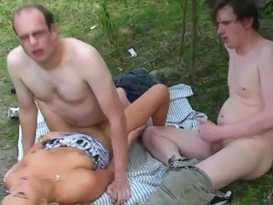 wife outdoor naked