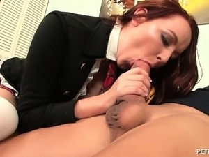 redhead first anal sex