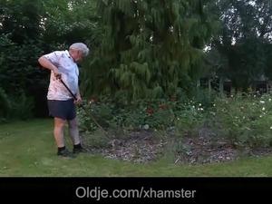 black old woman porn