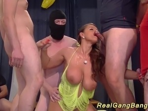 gangbang interracial black