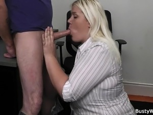 office porn babes