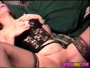 cuckold wife creampie video