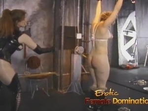 forced sex tied spread eagle video