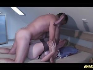 wife nylon legs sex