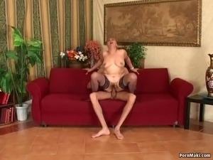 granny loves anal sex