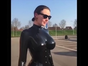 fetish glamour latex porn