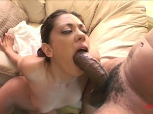 cute girl deep throat
