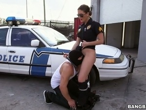 Sex on while having officer duty police