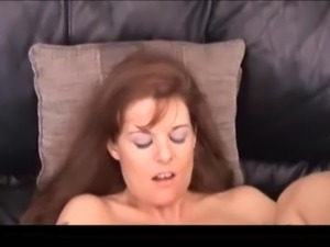 sexy busty redhead mature