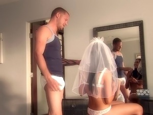 brides first honeymoon blowjob video