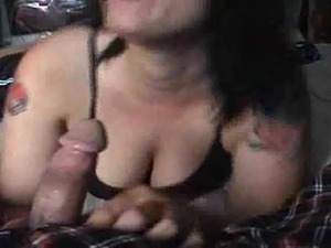 Cum in wifes mouth