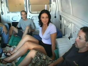 mature gangbang sex video