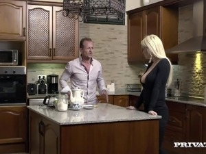 randy spears handjob young girl kitchen
