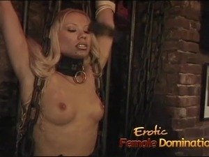 blonde bimbo nude video