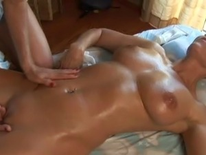 lesbian sex massage kissing ass licking