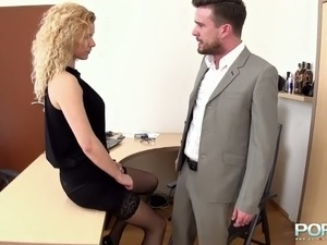 wife sex fantasy debt job boss