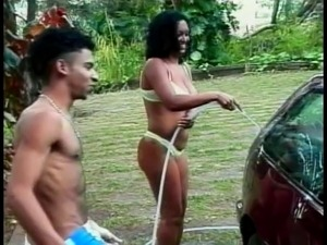 sexy naked girls on cars