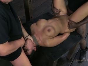 big boobs lesbian bondage