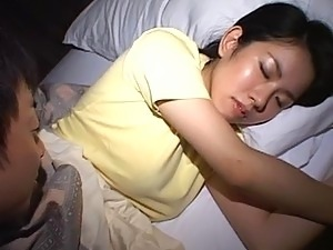 finger anal ass sleeping girl