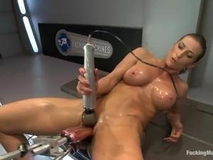girls riding sex machines videos