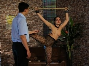 spanking naughty porn video