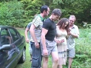 Hurt rough gang bang squirt porn