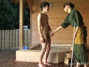 japanese couple bathroom sex