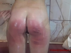 sex black school girl spanked