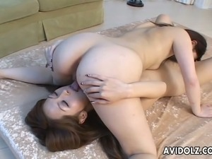 japanese lesbians anal rimming