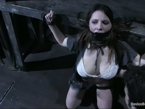 painful pussy bdsm stretching videos