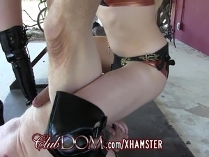 young femdom girls dominate